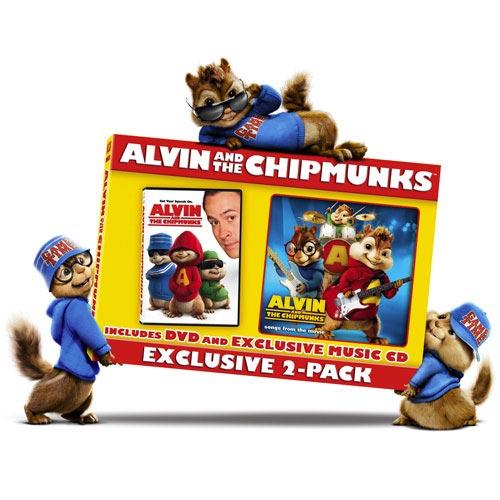 ALVIN & CHIPMUNKS W/CD (Full Frame, Widescreen)