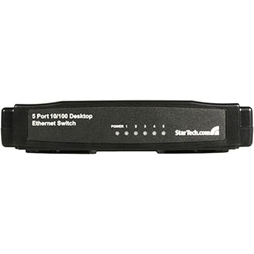 StarTech.com DS51075 Port 10/100 Desktop Ethernet Switch