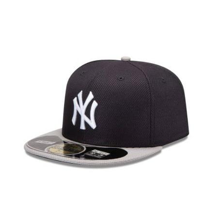 100% high quality latest discount big discount MLB New York Yankees Road Diamond Era 59Fifty Baseball Cap, 6 7/8 ...