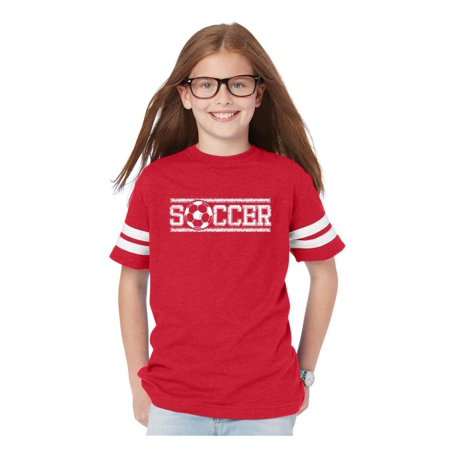 Football Soccer Jersey (Soccer Youth Unisex Football Fine Jersey Tee )