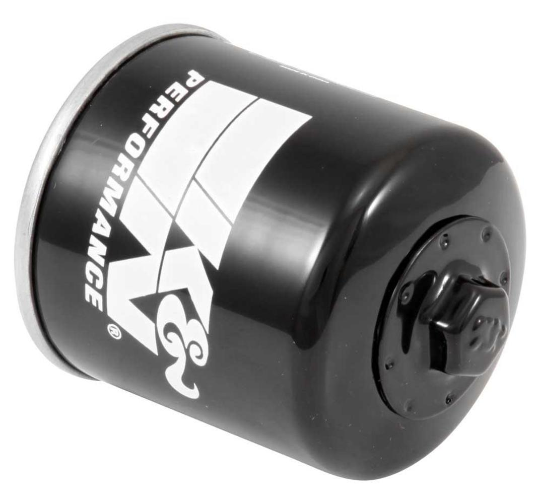 K&N Engineering KN-204 Performance Gold Oil Filter - Black