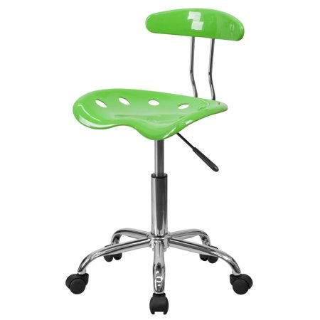 Flash Furniture Computer Task Chair with Tractor Seat, Apple Green