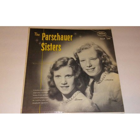 *RARE HARD TO FIND*The Parschauer Sisters*Vinyl Record