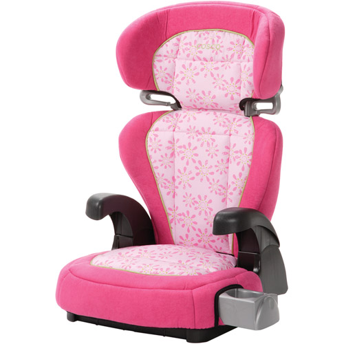 Cosco Pronto Belt-Positioning Booster Car Seat, Simply Daisy