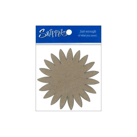 Snippets Chip Shape 3pc Sunflower Natural