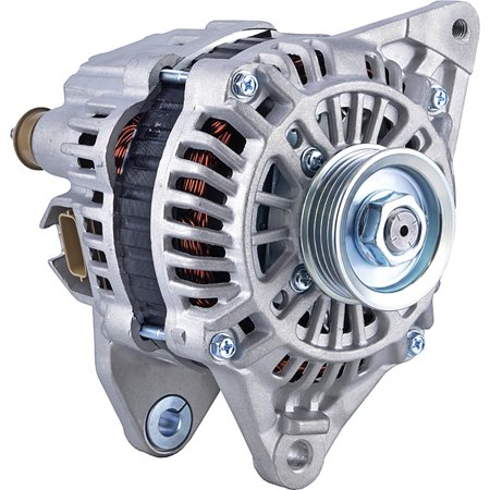 DB Electrical New 400-48238 Alternator for 04 Clock 85 Amp Internal Fan Type Solid Pulley Type Internal Regulator CW Rotation 12V Mitsubishi Lancer 2002 2003 2004 LR1190-913, 11288, (2004 Mitsubishi Lancer Alternator)