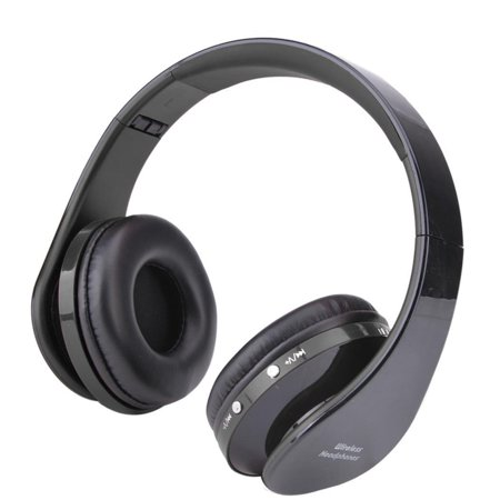 Elecmall 4.0 Wireless Bluetooth Noise-Canceling Hi-Fi Headphones Sound-isolating design Elec