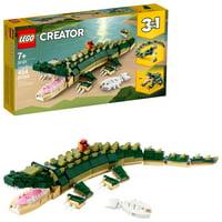 LEGO Creator 3in1 Crocodile 31121 BuildingToy Featuring Wild Animal Toys (454 Pieces)