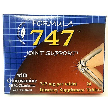 Formula 747 Joint Support With Glucosamine, MSM , Chondroitin , Turmeric 20 TB Glucosamine Chondroitin Formula