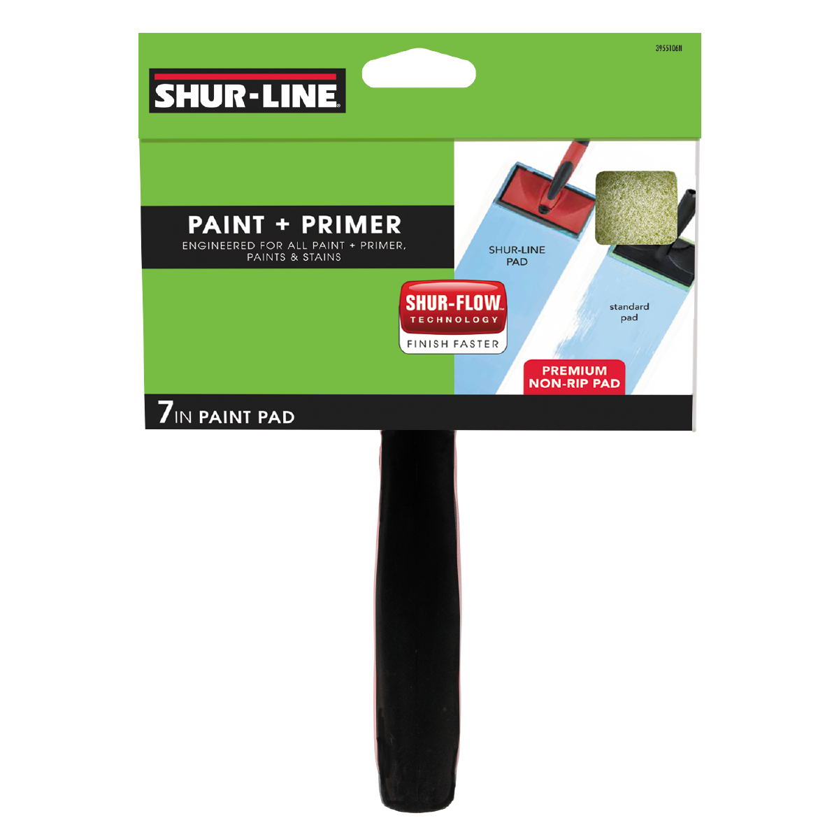 "Shur-Line 7"" Paint + Primer Paint Pad with Handle"