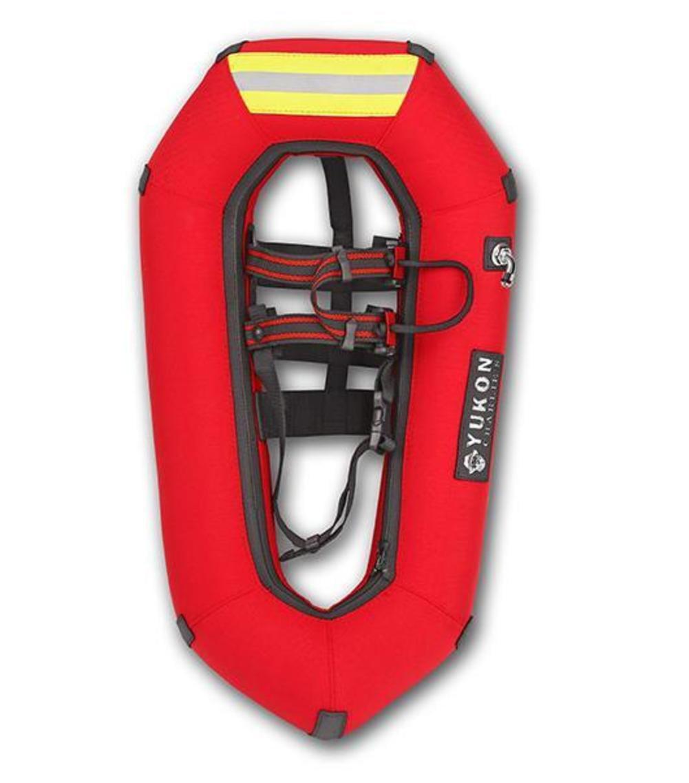 Yukon Charlies Emergency Inflatable Snowshoes (Red, OSFM) by Yukon Charlies