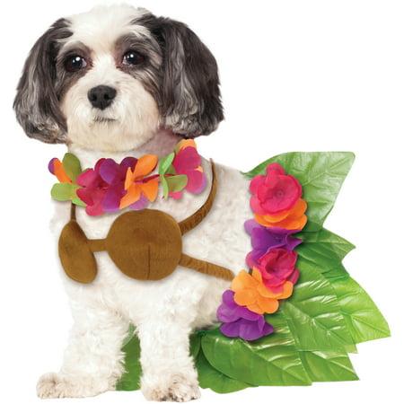 Rubie's Hula Girl Pet Costume - Small - Girls Hula Costume