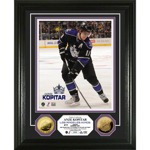 NHL - Anze Kopitar Los Angeles Kings 24KT Gold Coin Photo Mint