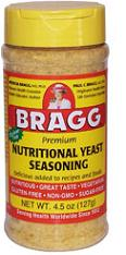 Nutritional Yeast Seasoning Bragg 4.5 oz Flake