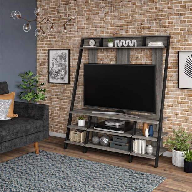 Claywood Ladder-Style Entertainment Center by River Street Designs