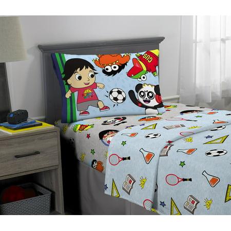 Ryans World Sheet Set, Kids Bedding, Ryan's Best (The Best Bed Sheets For Summer)