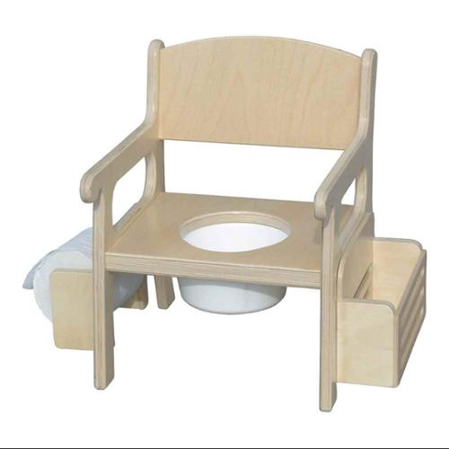 Traditional Potty Chair (White)
