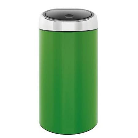 Touch Bin 45 Liter.Brabantia Touch Bin De Luxe 45 Liter Apple Green Walmart Com
