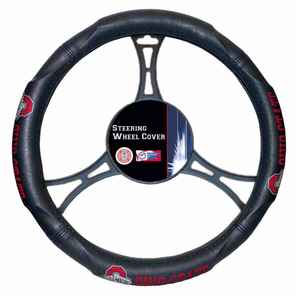 Ohio State Steering Wheel Cover