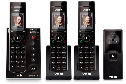 VTech IS7121-2 + (1)IS7101 Doorbell Answering System W  Push-To-Talk Intercom by VTech