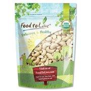 Food To Live Organic Cashews (Whole, Raw) (8 Ounces)