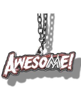 WWE The Miz Awesome! Logo Pendant