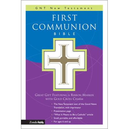First Communion Bible-GNV-Compact - Present For First Communion
