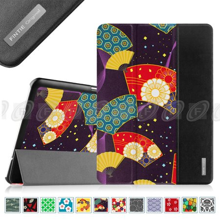 size 40 01096 75210 Fintie Samsung Galaxy Tab S2 9.7 Tablet Smart Shell Case - Ultra Slim  Lightweight Stand Cover, Floral Fan Purple