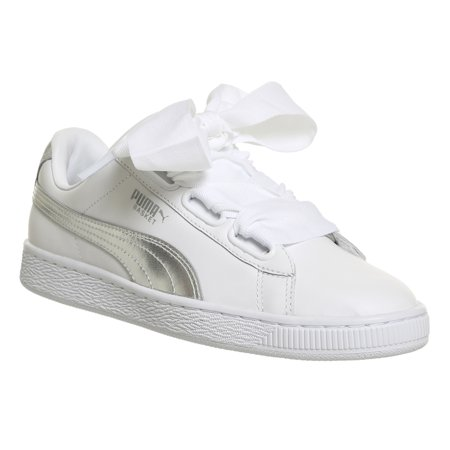 PUMA Womens Basket Heart Explosive Leather Low Top Lace Up - image 2 of 2