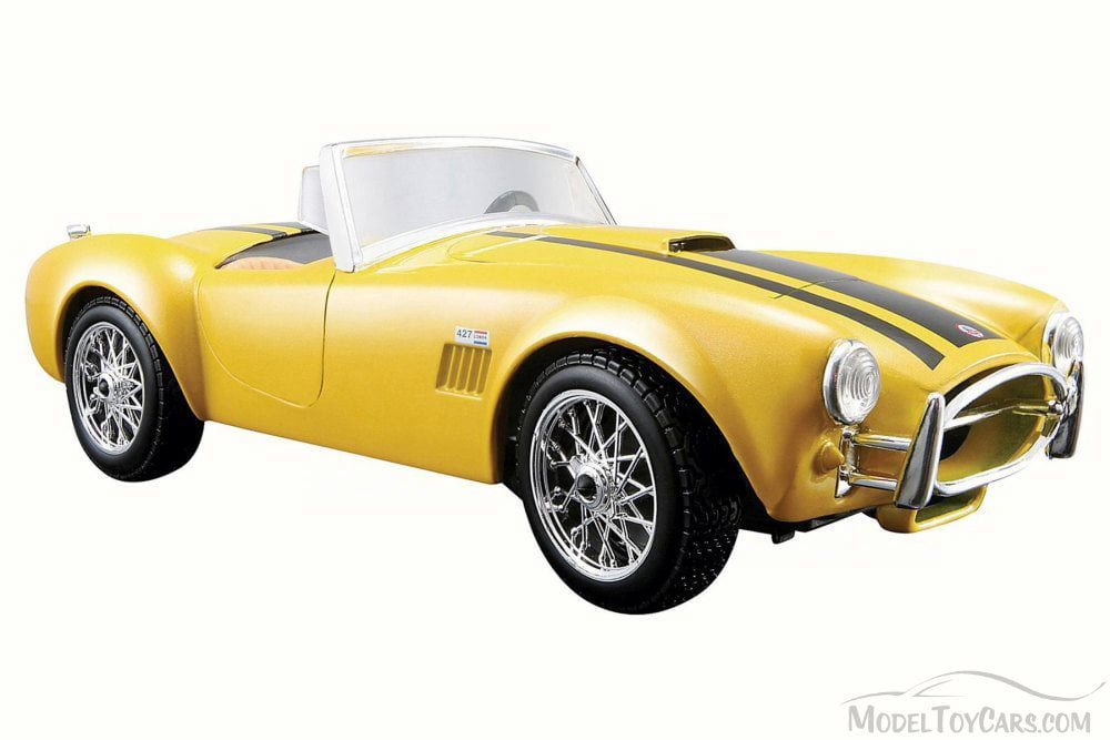 Maisto 1:24 Scale Vintage Car Model Alloy Vehicles Toy For 1965 Shelby Cobra 427