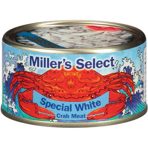 Miller's Select Special White Crab Meat, 6.5 oz, (Pack of 12) by Generic