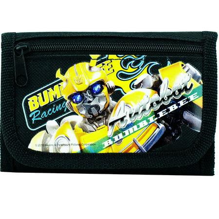 Bumblebee Bat For Sale (Transformers Prime Bumblebee Tri-Fold Wallet Coin Purse Bag Black)
