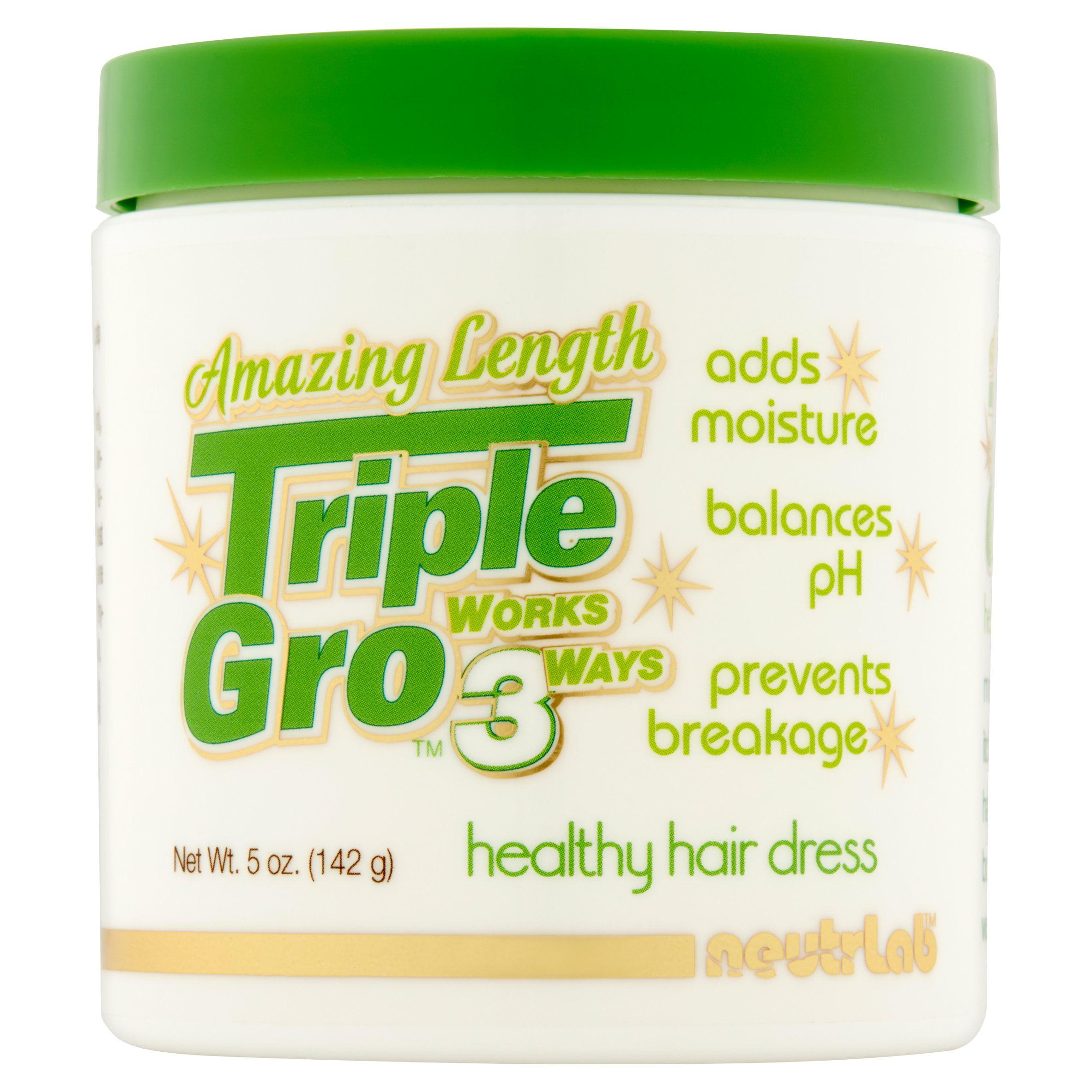 Amazing Length Triple Gro Healthy Hair Dress, 5 oz