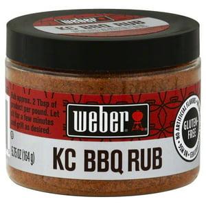 Weber Rub, KC BBQ