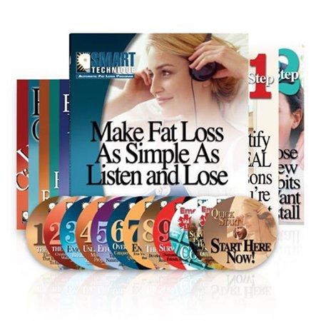 Smart Technique Automatic Fat Loss Program - Step 1 & 2 Books - 12 CDs - 6 (Best Program To Burn Cds)