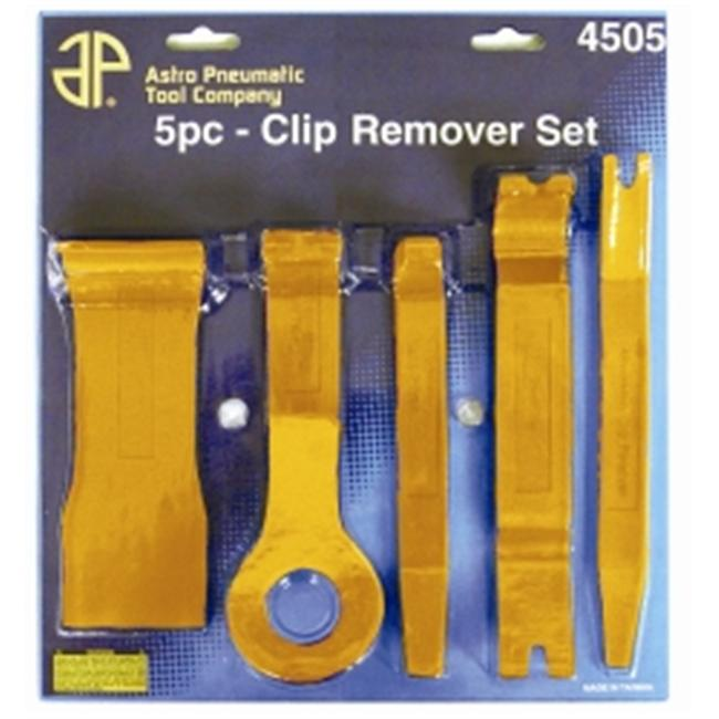 Astro Pneumatic AST4505 Fastener & Molding Remover Set 5 Pc