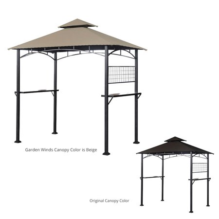 Garden Winds Replacement Canopy Top For Tile Grill Gazebo