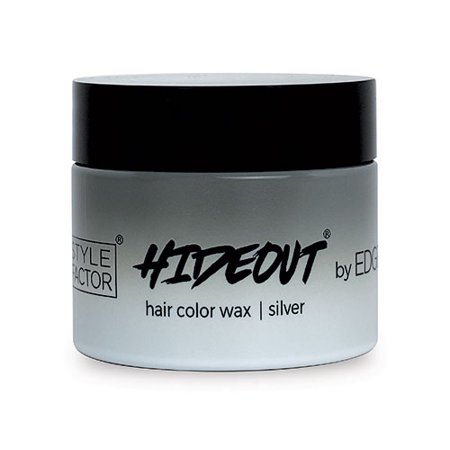 Style Factor Edge Booster HIDEOUT Color Wax 1.75 OZ SILVER