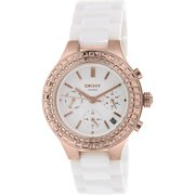 Women's Chambers NY2225 White Ceramic Quartz Fashion Watch
