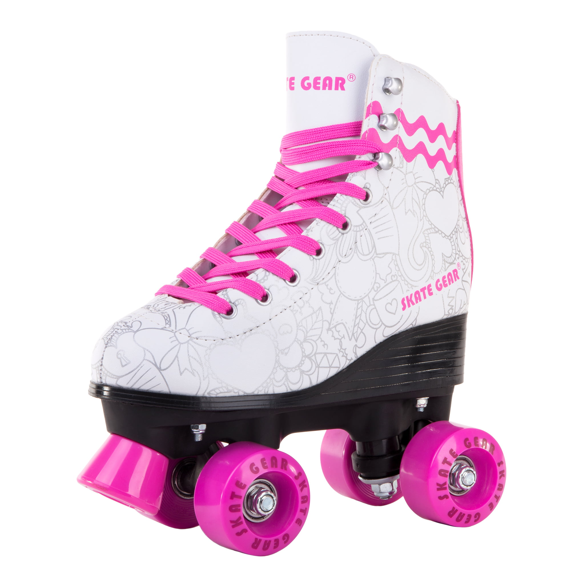 Cal 7 Roller Skates for Indoor   Outdoor Skating 51ee404db