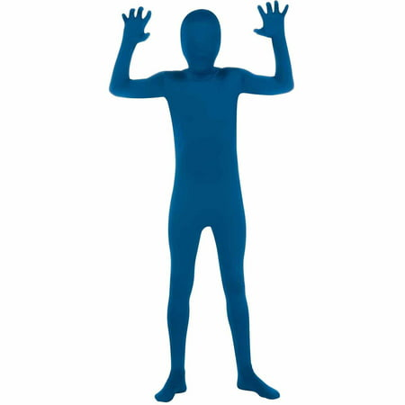 Blue Skin Suit Child Halloween Costume