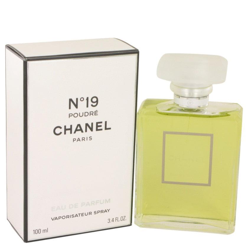 Chanel 19 Poudre Perfume by Chanel, 3.4 oz Eau De Parfum Spray bcf10925d18f