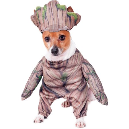 Guardians Of The Galaxy Walking Groot Pet Halloween Costume (Walking Dead Halloween Costumes)