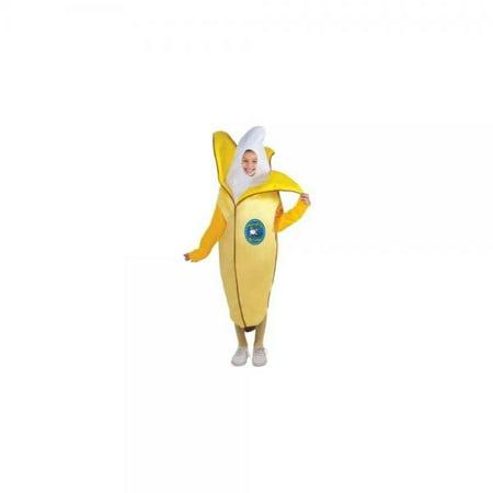Kids Fruit Costume (Forum Novelties Fruits and Veggies Collection Appealing Banana Child Costume,)
