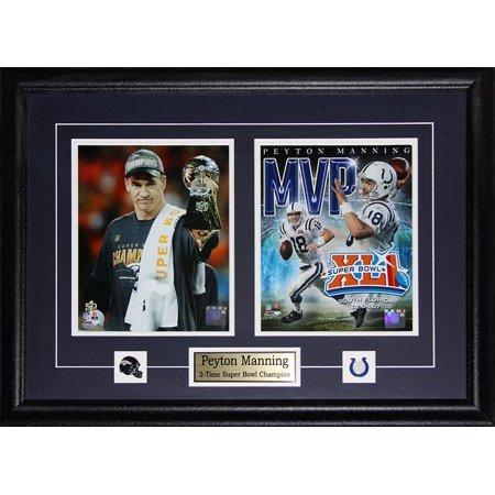 check out de1f7 93358 Peyton Manning Denver Broncos & Indianapolis Colts Super ...
