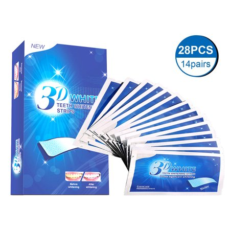 Teeth Whitening Strips, Xpreen Flash Whitestrips Professional Teeth Whitening Kit- Pack of 28- No Need for Powder or
