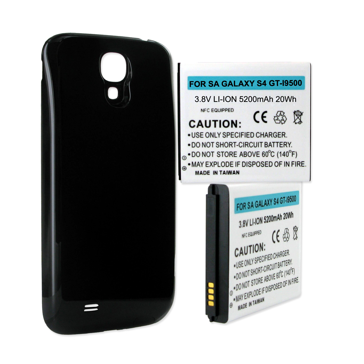 Empire Industries SAMSUNG GALAXY S4 5.2Ah EXTENDED NFC BA...
