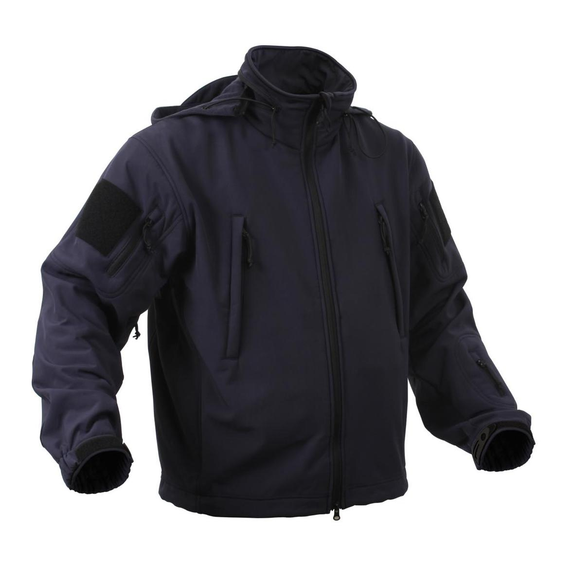 Special Ops Tactical Soft Shell Jacket Midnight Blue 3X-Large