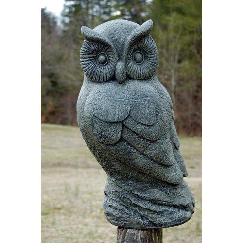 Ladybug Garden Decor Ozzy Owl Statue