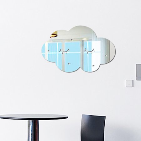 - Tuscom Nordic Acrylic Mirror Cartoon Wall Camera Props Kids Room Wall Decoration